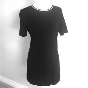 Brandy Melville Small Sweater Tunic Mini Black